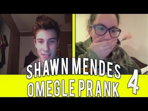 Shawn Mendes On Omegle (Celebrity Omegle Pranks)