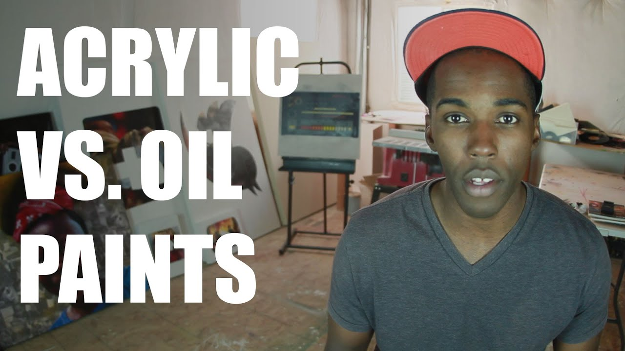 What Is The Difference Between Acrylic And Oil Based Paint