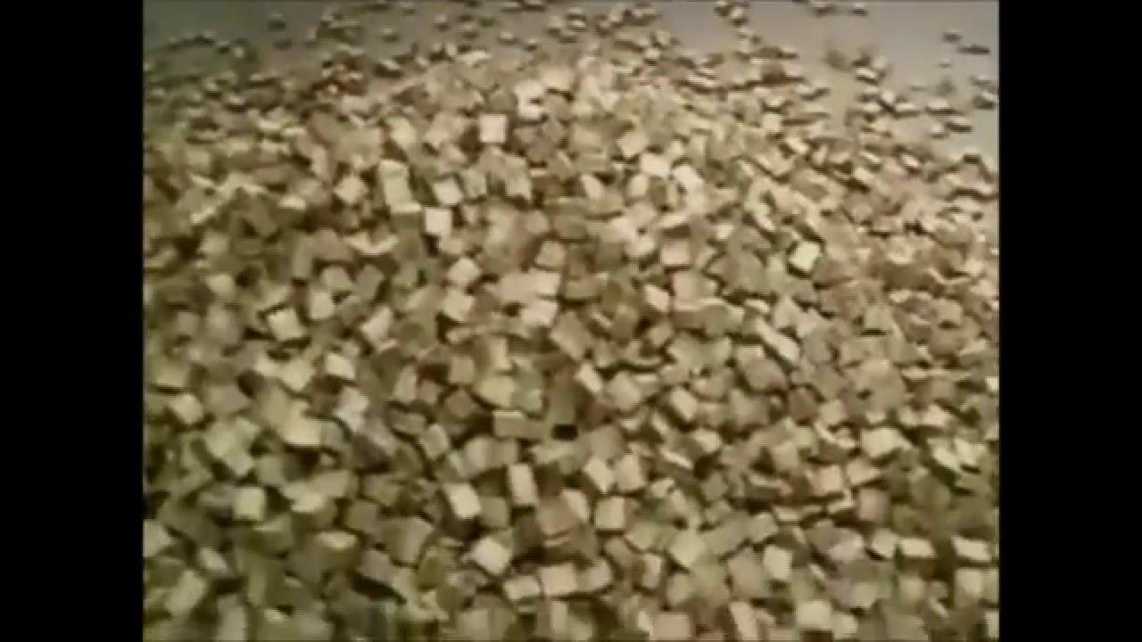 Inredning pellets kostnad : Briketter till flispannor 20 mm x 20 mm Brikettmaskin 2x2 ...