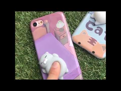 Squishy 3D Cat IPhone Case   FLASH SALE  Toys for Children   YouTube