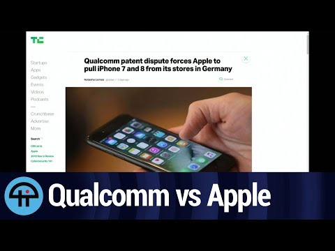 Qualcomm vs Apple in Germany