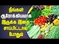 What to Eat for Your Health Living in Tamil
