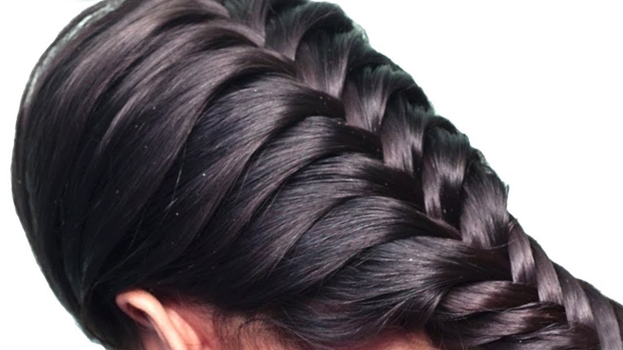 How to do French Braid Hairstyle tutorial 12  Easy Hairstyle for Long  Hair 12  Cute Hairstyles
