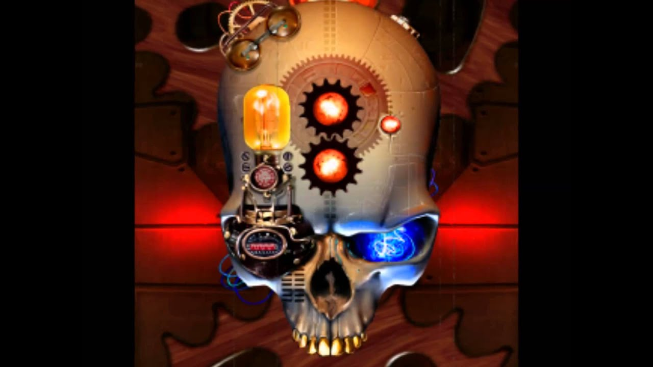 Steampunk skull fondo de pantalla animado hd para tablet y for Fondos 3d para android