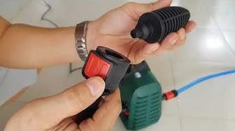 Sử Dụng Và Đánh Giá Máy Xịt Rửa Xe Áp Lực Cao Bosch