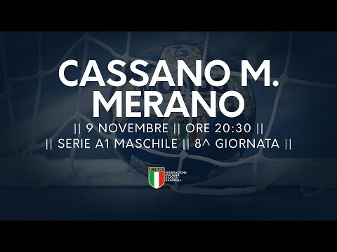 Serie A1M [8^]: Cassano Magnago - Merano 29-25