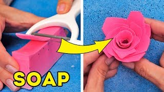 17 COOL SOAP HACKS AND DIYs