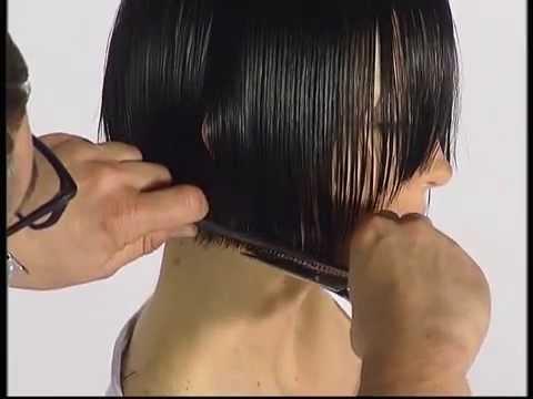 Стрижка каре с прямой челкой