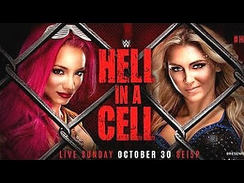 Charlotte Flair vs Sasha Banks| Hell in a cell 2016| Full match :) :)
