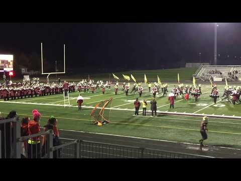 New Albany High School Marching Band Vs. Columbus West (PlayOff)