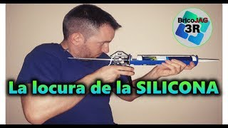 Tricks to give silicone | Apply Silicone Without Knowing, Easy, Nice and Fast | Caulking gun