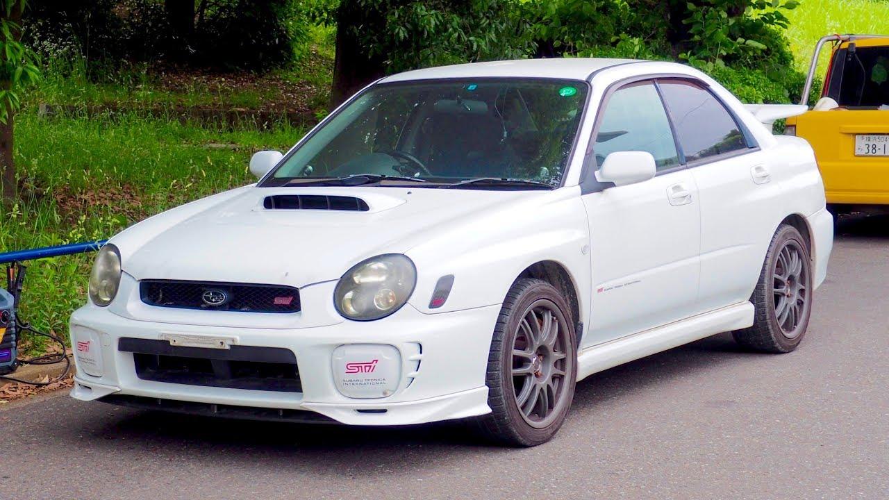hight resolution of 2002 subaru impreza wrx sti limited gdb canada import japan auction purchase review
