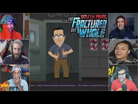 Gamers Reactions to Jared From Subway Intro | South Park™: The Fractured But Whole להורדה