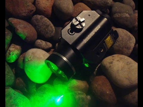 Green Laser & Light Combo testing at night hours w/ Glock remote