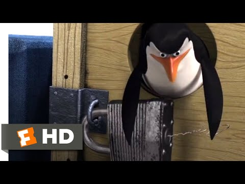 Madagascar (2005) - Penguin Boat Takeover Scene (3/10) | Movieclips