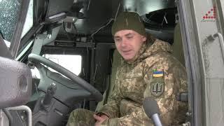 Нова військова автівка для армії