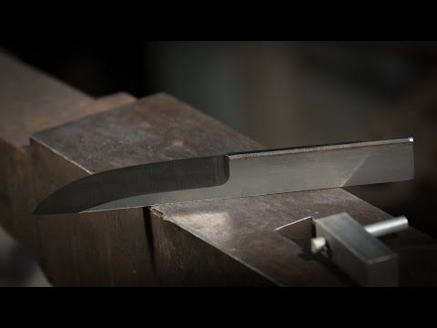 Get Hard:  Heat Treating a Knife with Charcoal