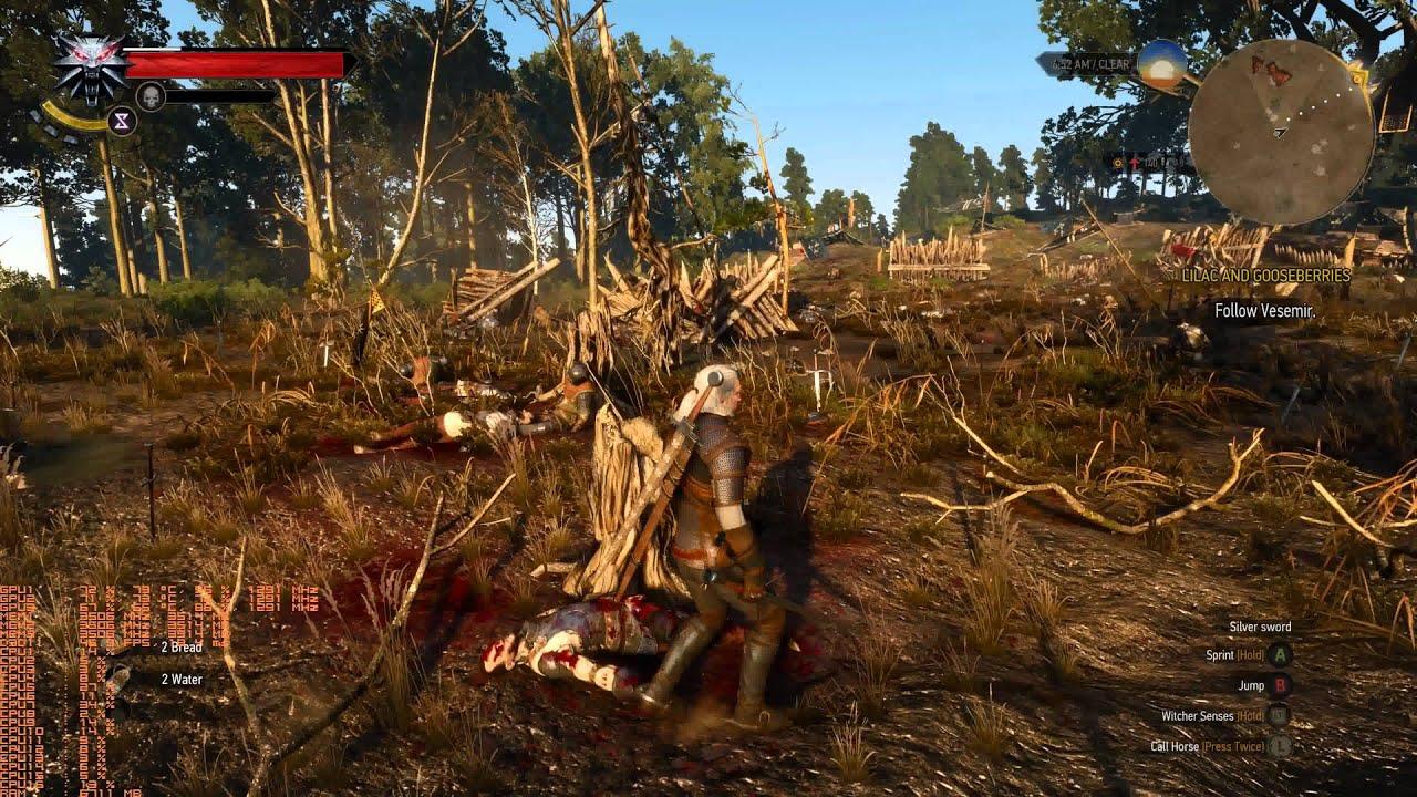 The Witcher 3: Wild Hunt - Повышение FPS для вёдер или древних