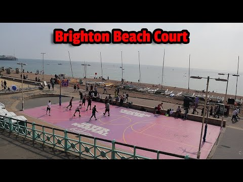 BRIGHTON BEACH COURT. Rating outdoor UK basketball courts EP 5 part 2.