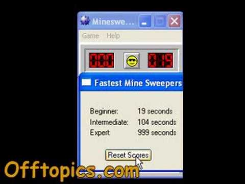 Minesweeper cheat hack 19 seconds!
