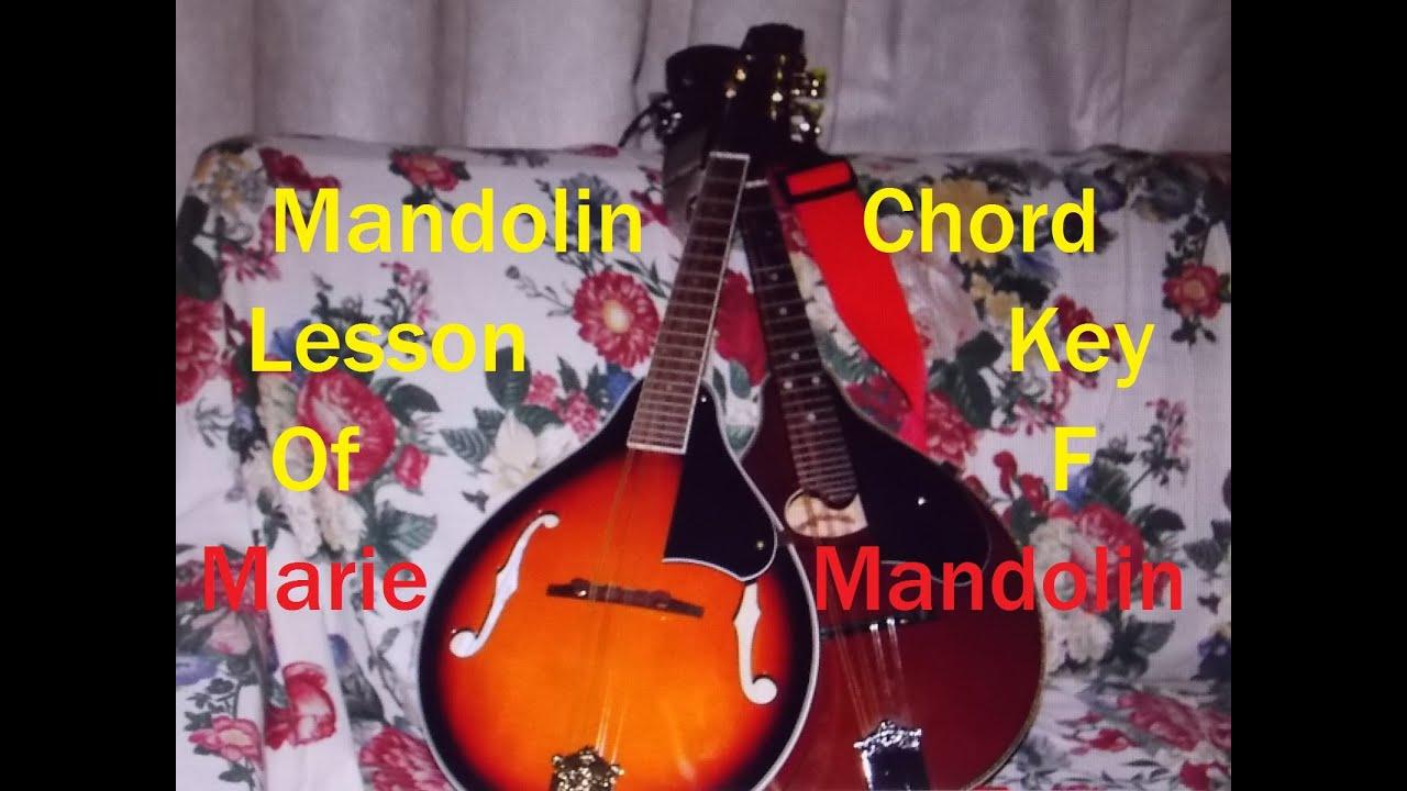 Marie mandolin mandolin chord lesson key of f major youtube marie mandolin mandolin chord lesson key of f major hexwebz Choice Image