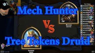 Tree Tokens Druid vs Mech Hunter   Hearthstone