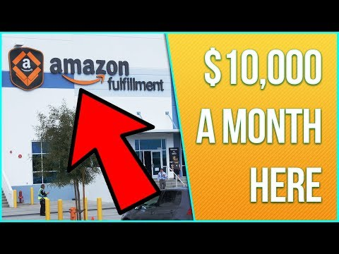 How to Make $10,000 Per Month with Amazon FBA [Full Business Breakdown]