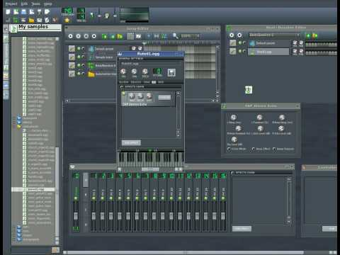 Linux Multi Media Studio - LMMS Part #3