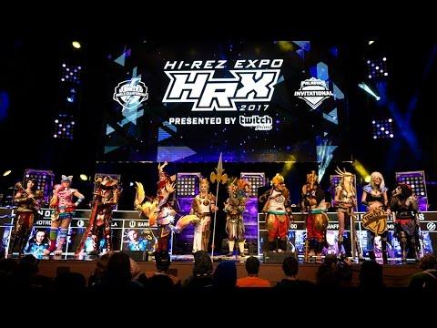 Hi-Rez Expo 2017 - Cosplay Contest Winners!
