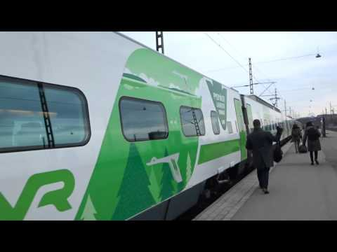 VR Pendolino 975 high-speed train@Helsinki Central Railway Station, H:ki, FI, 06.04.2016 at 16:05