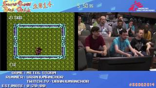 Summer Games Done Quick 2014 - Part 51 - Metal Storm