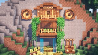 Minecraft | How to Build a Mountain House