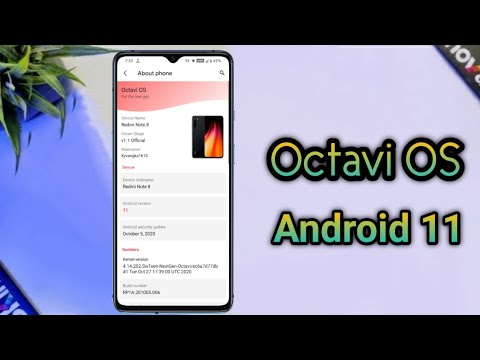 Download Octavi OS v1.2 Official Android 11 For Redmi Note 8 | New UI