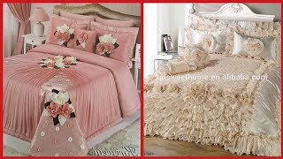 Luxury Designer Bed sheets Designs// Beautiful Bridal Bedsheets Collection