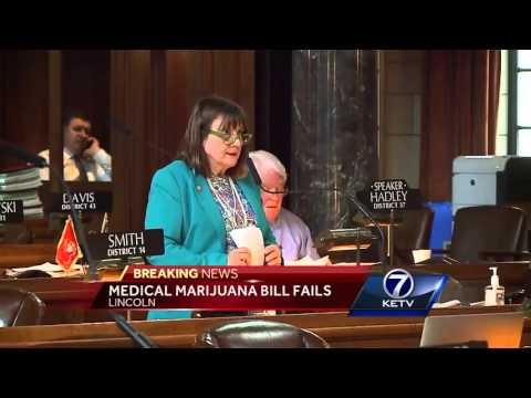 Nebraska Legislature abandons medical marijuana