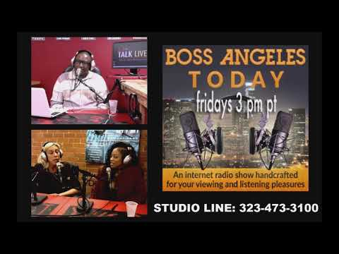 """Londell """"Nikko London"""" Smith on Boss Angeles TODAY 04-14-17"""
