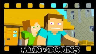 Steve Is A Theif - Monshiiee Minetoons Animations