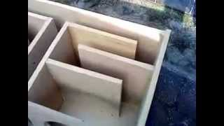 (diy) How To Build A  T- Line Speaker Box (part 2 Box)