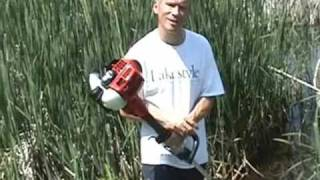 Pond Cattail Cutter Lilly Lily Pad Remover bullrush removal aquatic vegetation vegitation groomer
