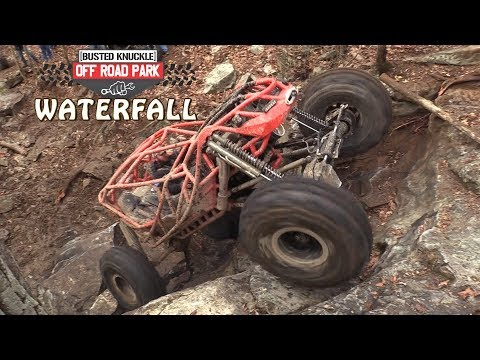The WATERFALL GETS CLIMBED at Busted Knuckle Off Road Park