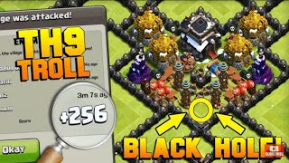 Troll base for town hall 9 | Clash of Clans