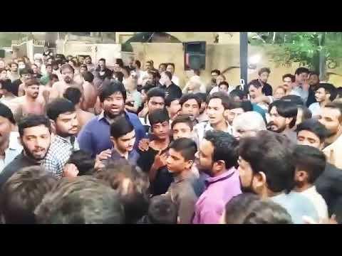 Teriyan Veerna New Noha Sain Rehman party 2018 thumbnail