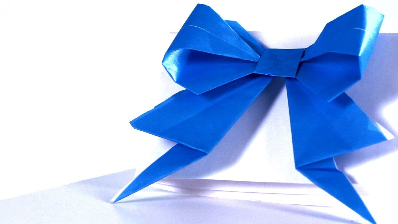 how to make a ribbon origami from howcast path