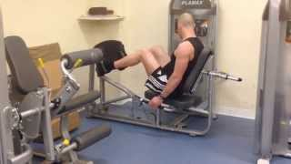 HIT Weights Workout D (08/06/14): Benchmark Video