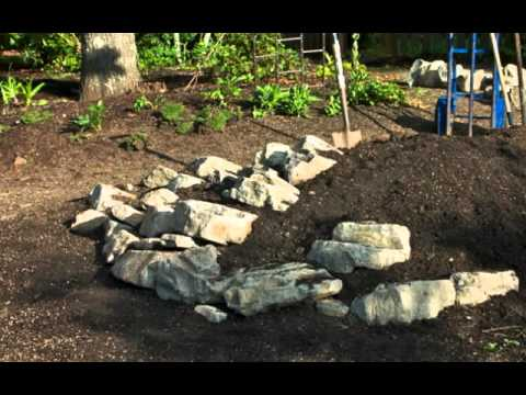 Build a Rock Garden for Miniature Conifers YouTube