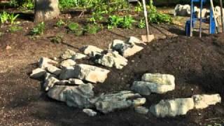 Build a Rock Garden for Miniature Conifers