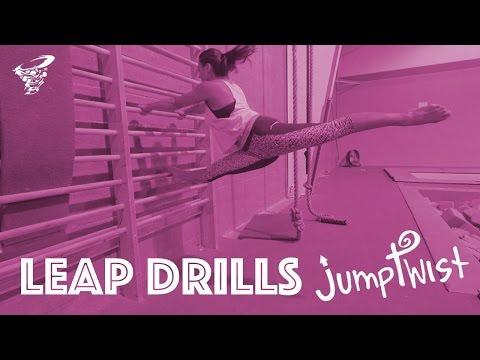 Drills for Gymnastics Leaps | Jumptwist