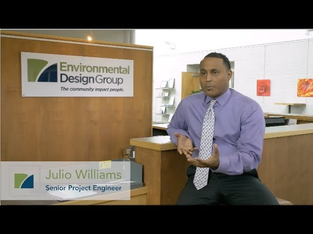 Julio Williams, Sr. Project Engineer - Environmental Design Group