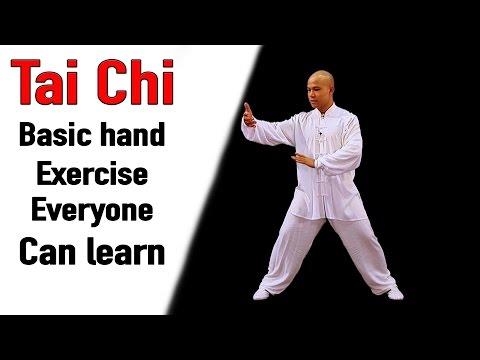 Tai Chi Basic Hand Exercise Everyone can learn   Tai Chi