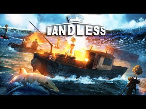 Landless: The Next Raft?  Shark Attack Ocean Survival Game (Landless Early Access Alpha Gameplay)